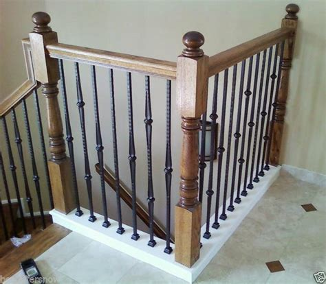 Wrought Iron Stair Balusters Details About Affordable Stair Parts Hammered Stair