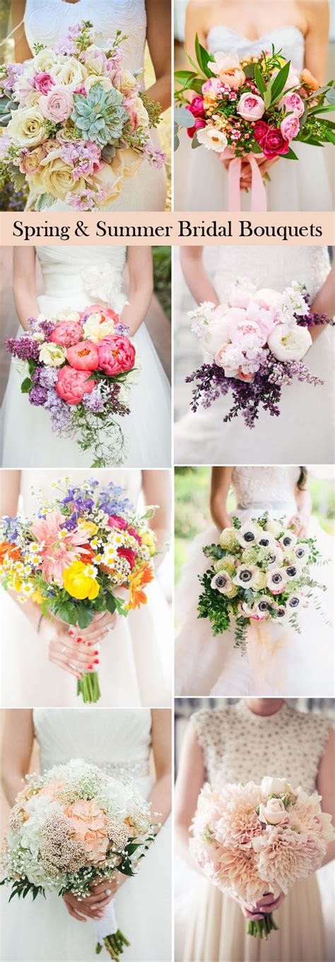 Wedding Ideas For Summer by 25 Swoon Worthy Summer Wedding Bouquets Tulle