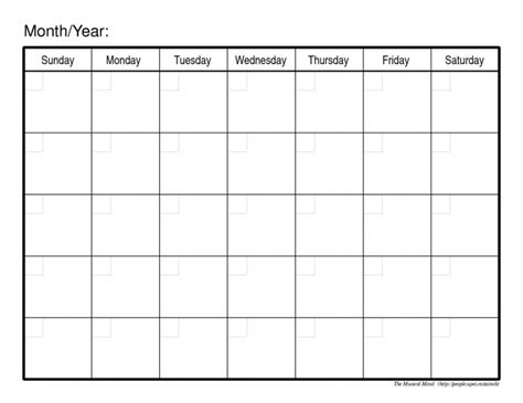 monthly printable calendars calendar printable 2017