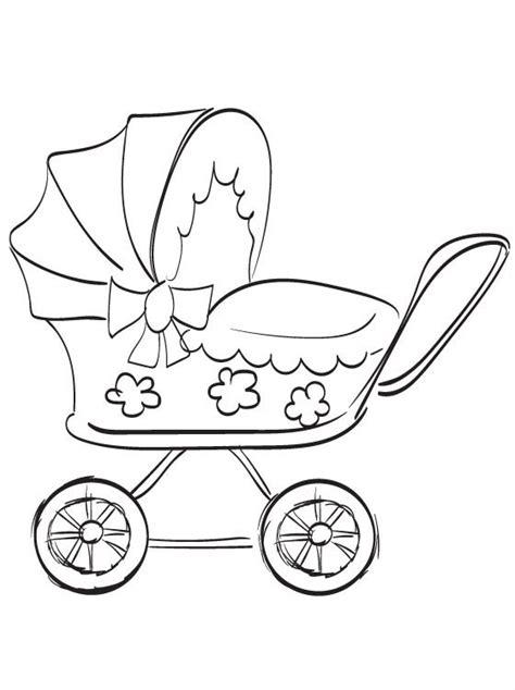 Desenho De Carrinho De Beb 234 Para Colorir Tudodesenhos Vw Coloring Page