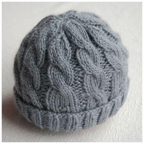 Cable Knit Hat Pattern A Knitting
