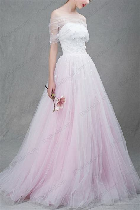 pink sparkly wedding dresses colored wedding dresses sparkly purple blue blush pink