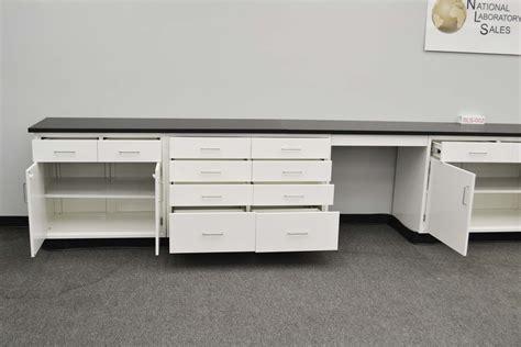 Desk Cabinets Base Desk by 24 Fisher American Base Laboratory Cabinets With Desks