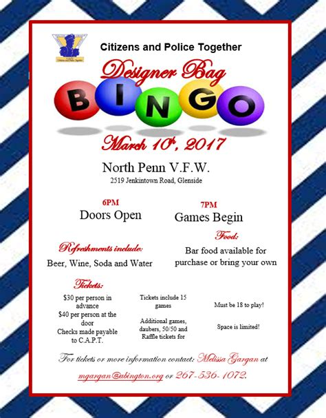 Designer Bag Bingo Home Bingo Flyer Template Free