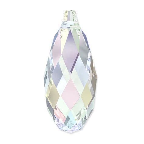 swarovski jewelry supplies swarovski briolette pendant 6010 13x6 5mm