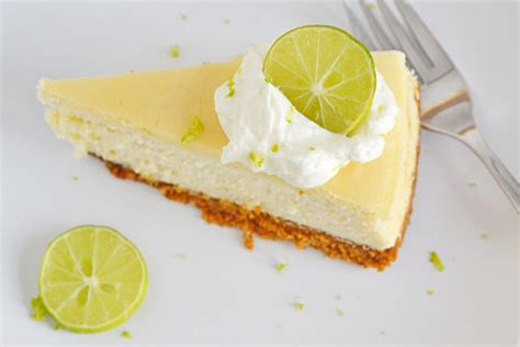 Lime Cheese Slice key lime cheesecake sundaysupper flour on my