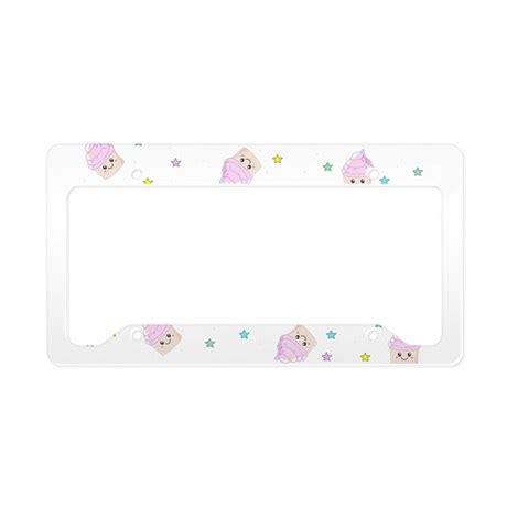 pattern for cupcake holder cupcake pattern license plate holder by inspirationzstore