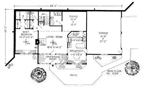 earth berm house plans earth sheltered homes floor plans earth contact home