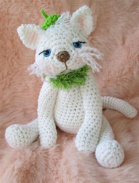 pattern cat crochet cute kitty cat by crews crocheting pattern