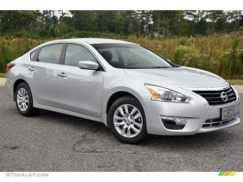 silver nissan brilliant silver 2013 nissan altima 2 5 s exterior photo