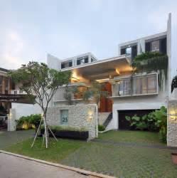 Home Interior Design Jakarta by Luxury Garden House In Jakarta Idesignarch Interior