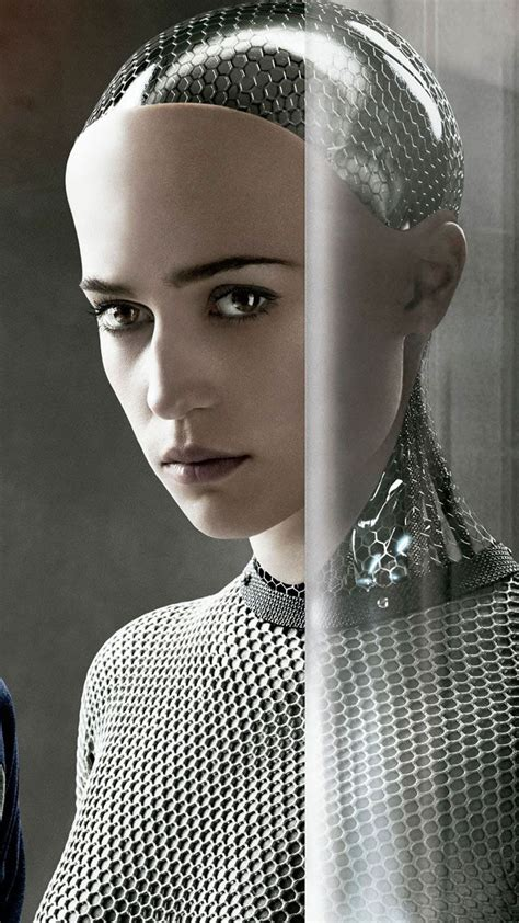 film robot ex machina the concept of ava for ex machina alicia vikander robot
