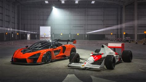 mclaren f1 factory mclaren christens its factory by skidding a senna