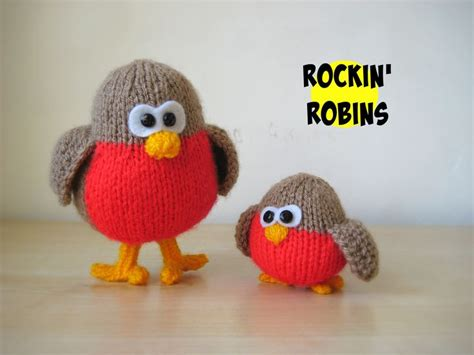 knitting pattern christmas robin 32 best robins images on pinterest european robin