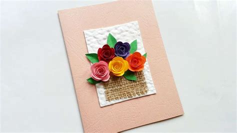 construct 2 full tutorial how to create a flower basket greeting card diy crafts