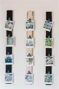 hanging photo display fotowand ideen an die sie vielleicht noch nicht gedacht haben