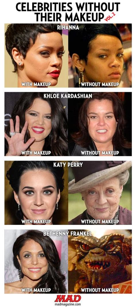 celebrities without their makeup mad celebrities without their makeup vol 2 mad magazine
