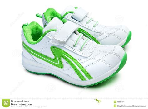 kid s sport shoes stock image image 13902471