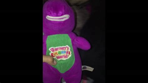 barney colorful world barney s colorful world plush