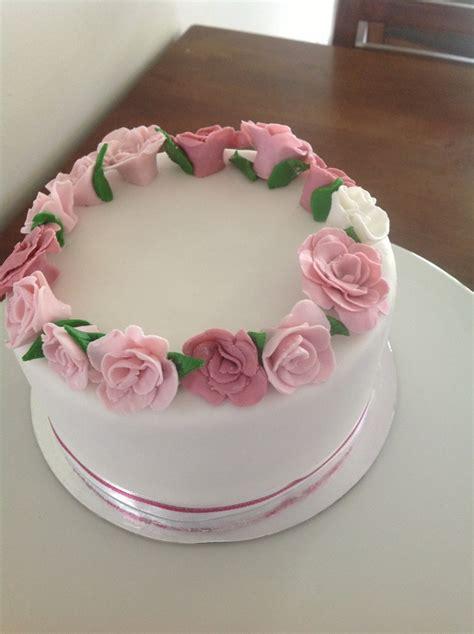 Rose ring cake   Coastal Cake Design
