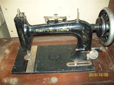 1891 new home sewing machine