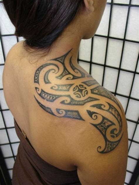 authentic tribal tattoos 69 traditional tribal shoulder tattoos