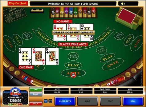 play  card poker table  microgaming