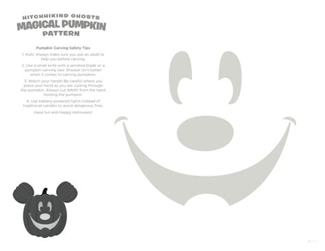 hitchhiking ghosts pumpkin stencils news