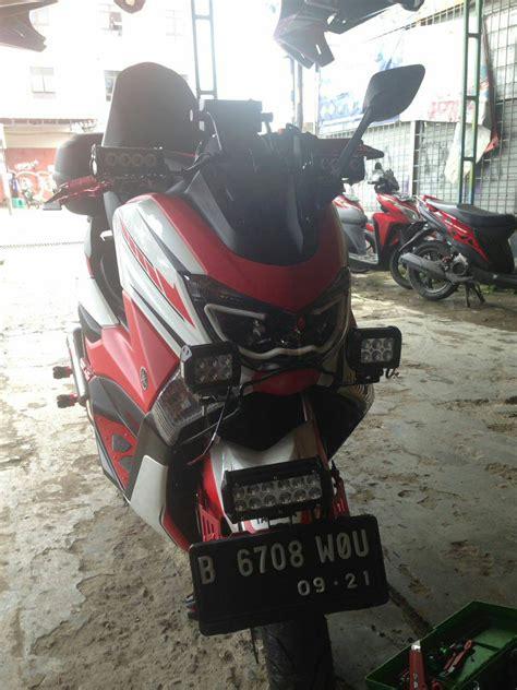 Braket Tameng Dpn Yamaha N Max 59 aksesoris lu motor nmax modifikasi yamah nmax