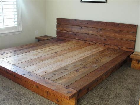 wooden bed frame king 25 best ideas about wooden bed on