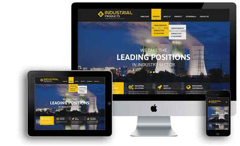 bootstrap themes ipad industrial product bootstrap template id 300111833 from