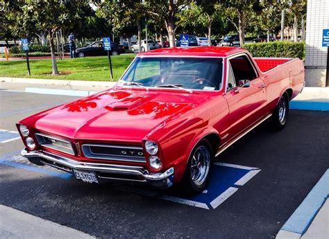 Pontiac El Camino by 1965 Pontiac Gto El Camino Maintenance Restoration Of