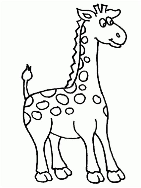 Giraffe Coloring Page giraffe coloring pages coloring town