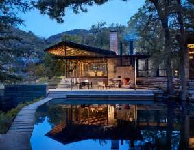 Country Homes And Interiors Magazine lake flato designs hill country house that s all about the