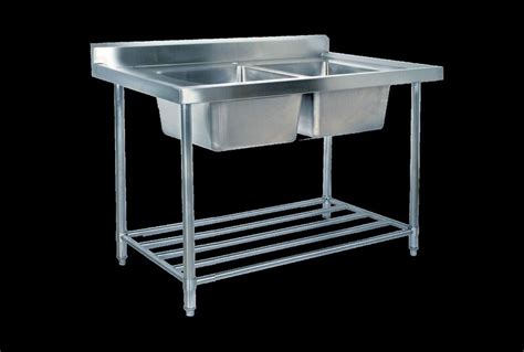 under bench sinks kss stainless steel sink bench double sink 2400mm