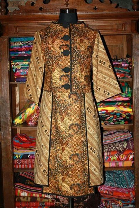 Sogan Jumbo Maksi Dress Wanita Batik Modern dress batik lawas batik dresses