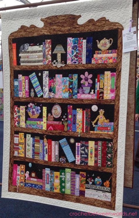 quilt pattern bookshelf crochet between worlds captain poprocks visits the sydney