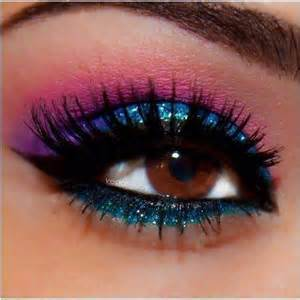 colorful eye makeup colorful eye shadow makeup picture