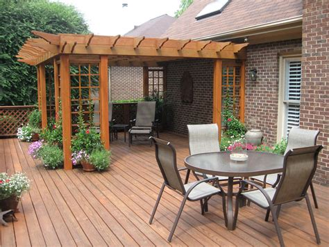 backyard wood patio backyard wood deck designs home design ideas