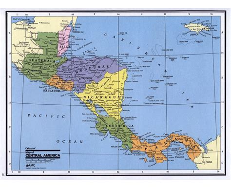 america and caribbean map maps of central america and the caribbean central america