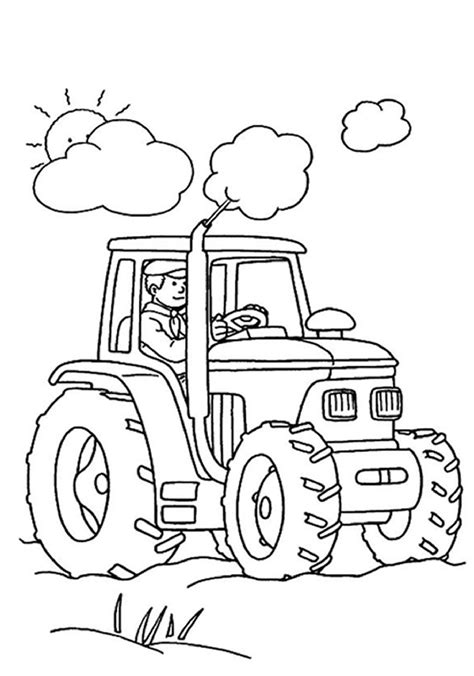 tractor coloring pages coloring pages to print