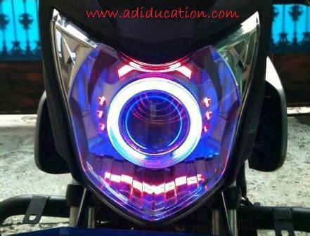 Lu Led Buat Motor Jupiter Z variasi lu warna buat motor dengan model bulat menarik