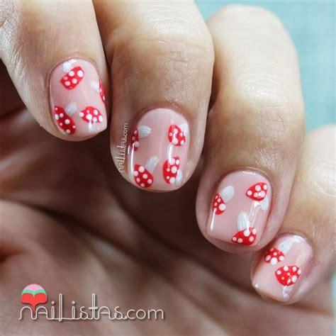imagenes uñas decoradas cortas u 241 as cortas decoradas de oto 241 o nail art de setas