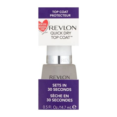Revlon Top Coat revlon top coat protecteur sechage rapide 14 7ml