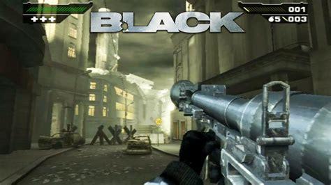 black video game black gameplay original xbox ps2 release date 2006