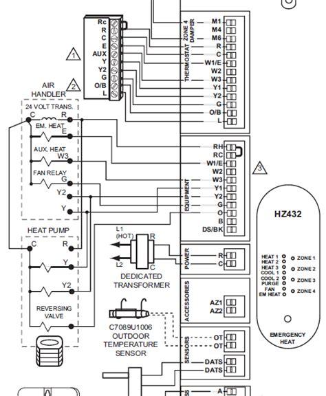 honeywell hz311 wiring diagram honeywell relay wiring