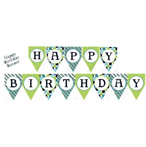 printable happy birthday banner 8 best images of printable birthday banners for boys