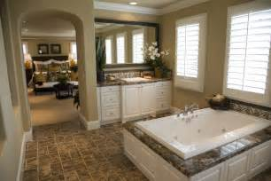 Master Bedroom Bathroom Ideas by 24 Luxury Master Bathroom Designs With Centered Soaking Tubs