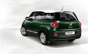 Fiat 50l Fiat 500l Living 2014 Widescreen Car Wallpapers 02