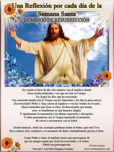 imagenes de reflexion por semana santa im 225 genes de cecill domingo santo una reflexi 243 n por cada